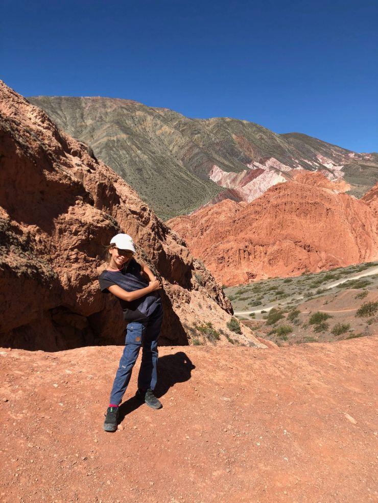 Derrière Eden, el Cerro de los 7 colores - Paseo de los colorados - Nordeste - Argentine