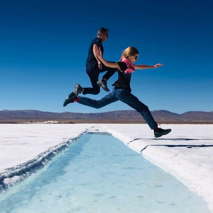 Concours de sauts - Salinas Grandes - Nordeste - Argentine