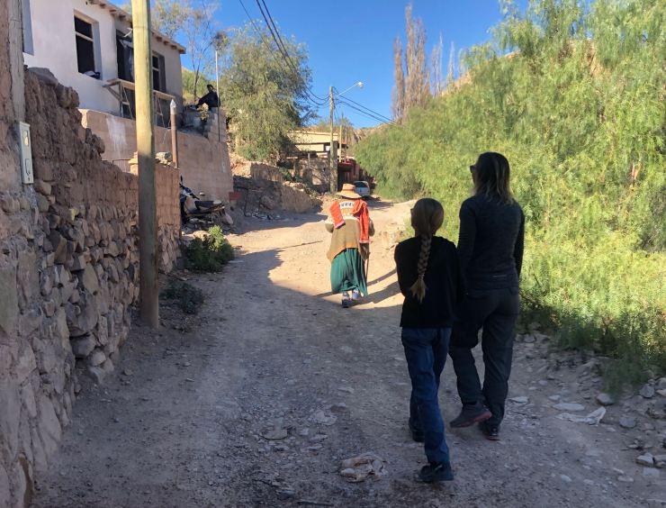 Dans Tilcara - Nordeste - Argentine