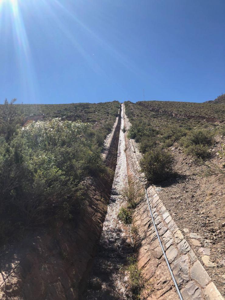 Acqueduc - Vers la Garganta del Diablo - Tilcara- Nordeste - Argentine