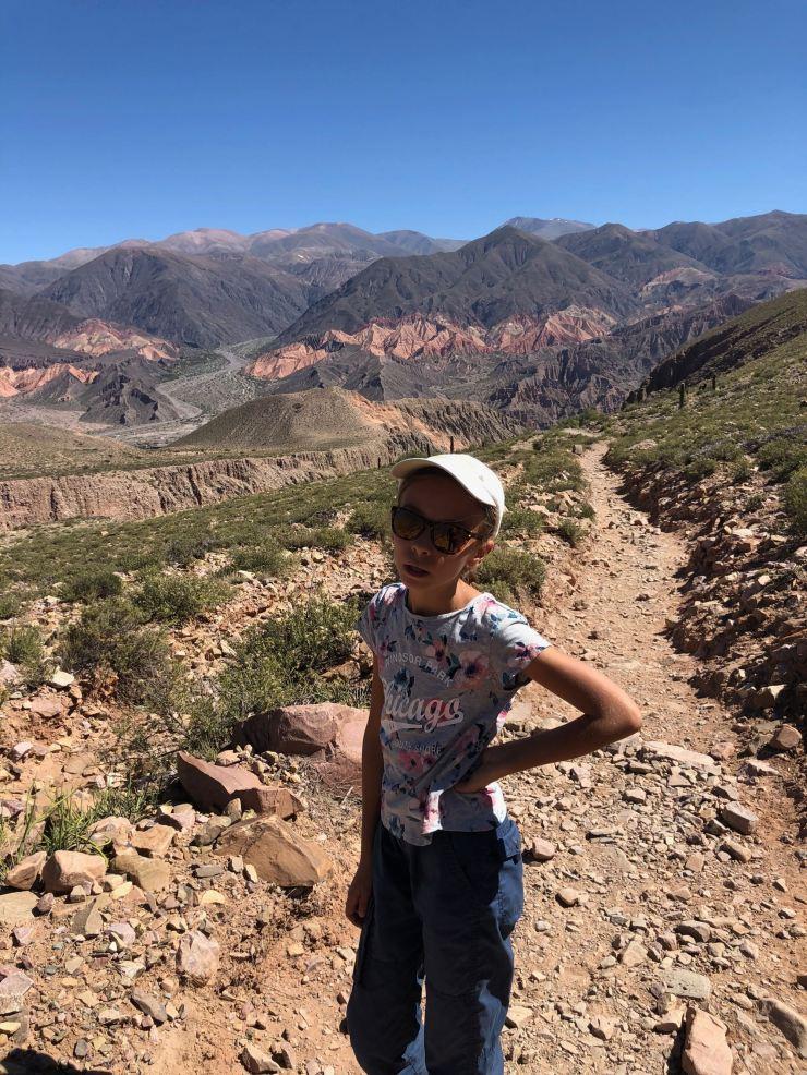 Vers la Garganta del Diablo - Tilcara- Nordeste - Argentine
