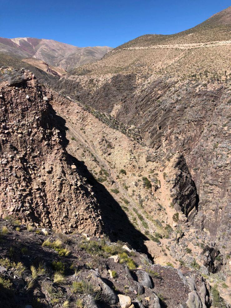 Canyon de la Garganta del Diablo - Tilcara- Nordeste - Argentine
