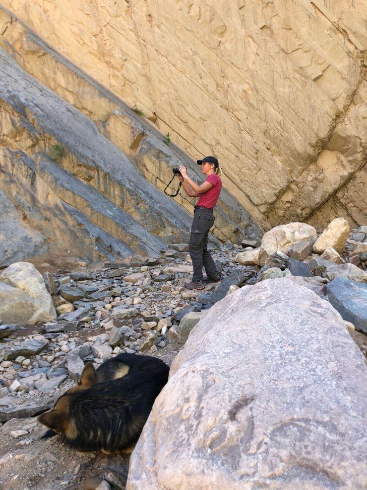 Je joue les photographes - Au fond de la Garganta del Diablo - Tilcara- Nordeste - Argentine