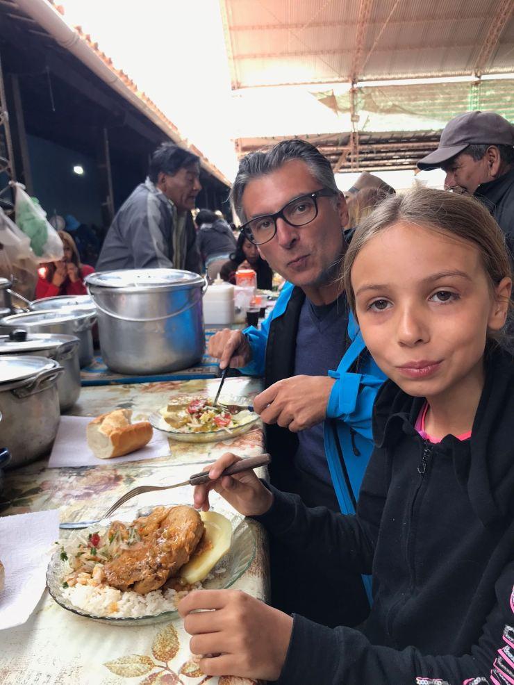 Déjeuner au marché de Tilcara - Nordeste - Argentine