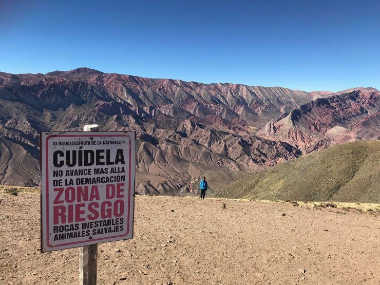 Ne pas aller plus loin ! - El Hornocal, la montagne aux 14 couleurs - Nordeste - Argentine