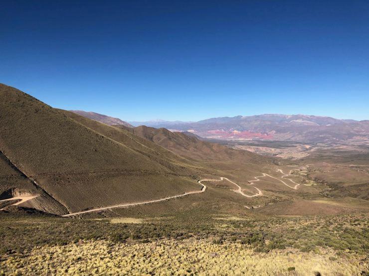 En redescendant d'El Hornocal - Nordeste - Argentine