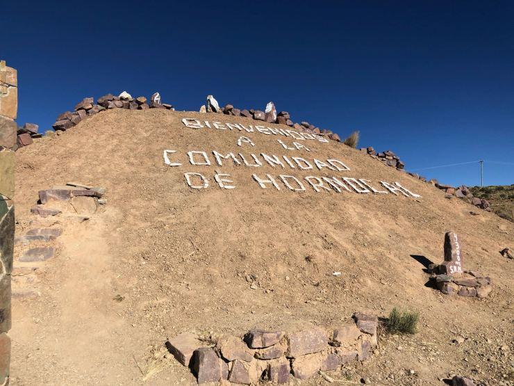Bienvenus à El Hornocal - Nordeste - Argentine