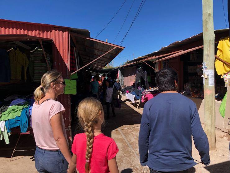 Au marché de Humahuaca - Nordeste - Argentine