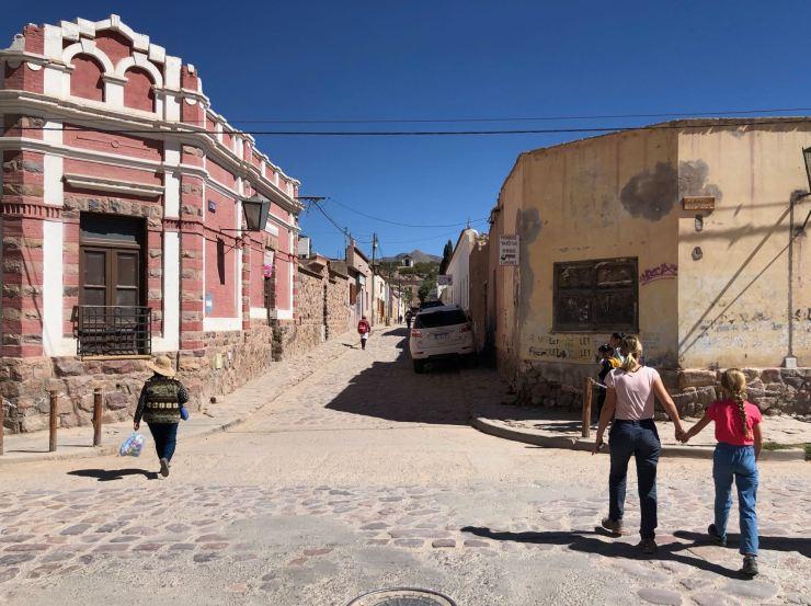 Dans les rues de Humahuaca - Nordeste - Argentine