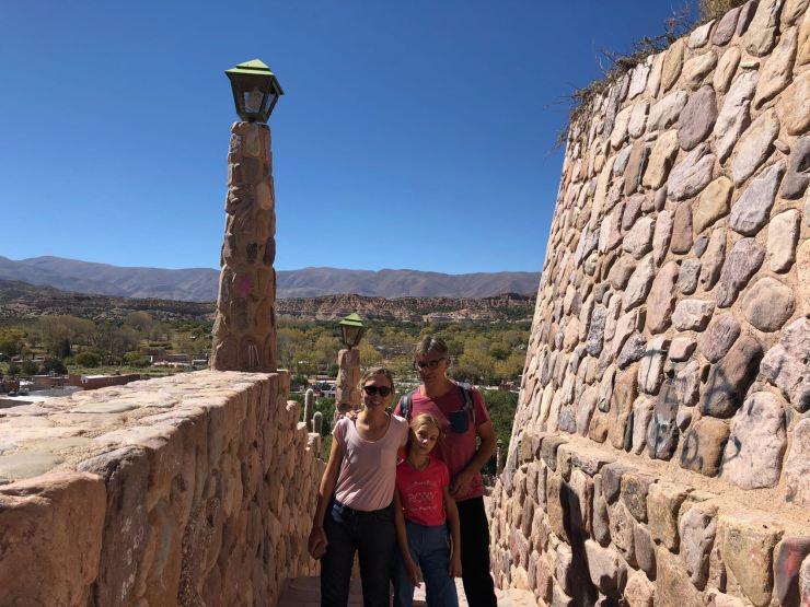 Dans le Monumento a la independencia - Humahuaca - Nordeste - Argentine