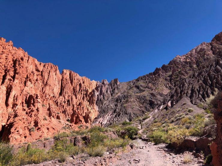 Au fond de la Quebrada de la senoritas - Uquia - Nordeste - Argentine