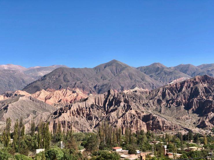 La vue de notre salon - Tilcara - Nordeste - Argentine
