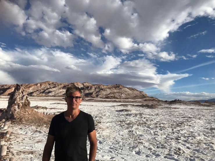 Geoffrey a marché sur la lune - Vallée de la Lune - Désert d'Atacama - Chili