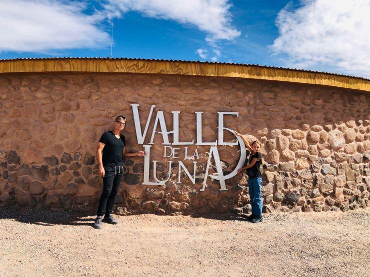 Bienvenus dans la Valle de la Lune - Désert d'Atacama - Chili