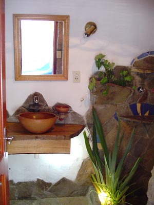 Intégration de plantes dans la salle de bain