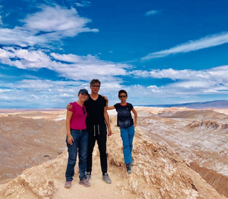 Mirador Achache - Vallée de la lune - Désert d'Atacama - Chili