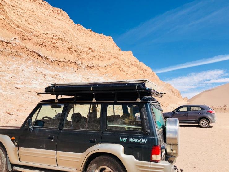 Le 4X4 de Ben et Tiphaine - Désert d'Atacama - Chili