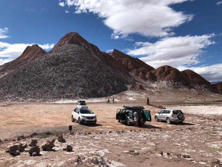 Pique-nique lunaire - Désert d'Atacama - Chili