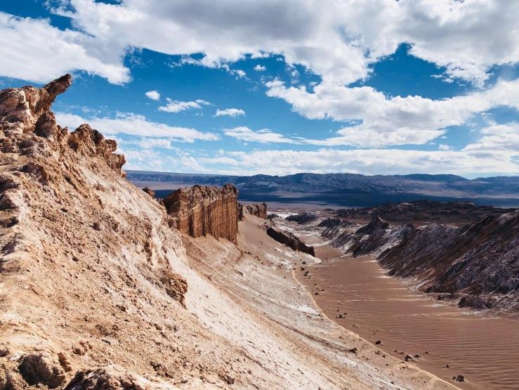 El Anfiteatro - Vallée de la lune - Désert d'Atacama - Chili