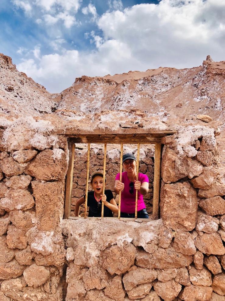 Ancien Bâtiment des mines de sel - Vallée de la Lune - Désert d'Atacama - Chili
