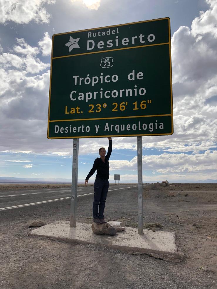 Tropique du Capricorne - Désert d'Atacama - Chili