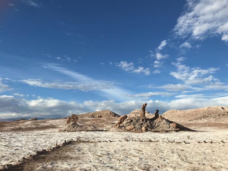Las Tres Marias - Vallée de la Lune - Désert d'Atacama - Chili