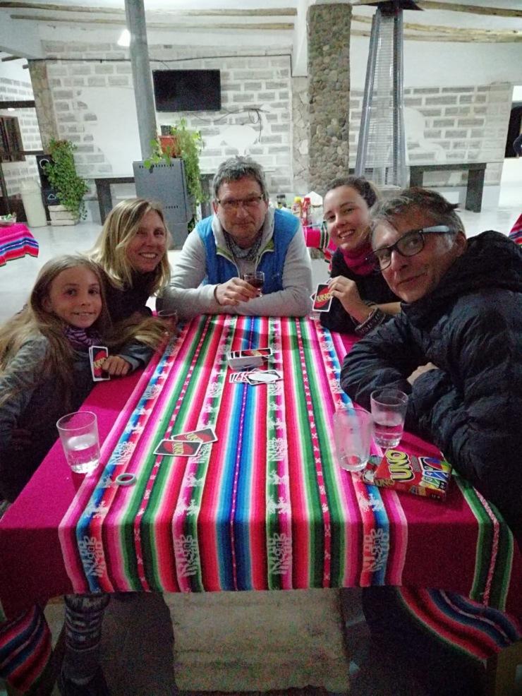 Dans notre hôtel de Sel - Salar d'Uyuni - Bolivie