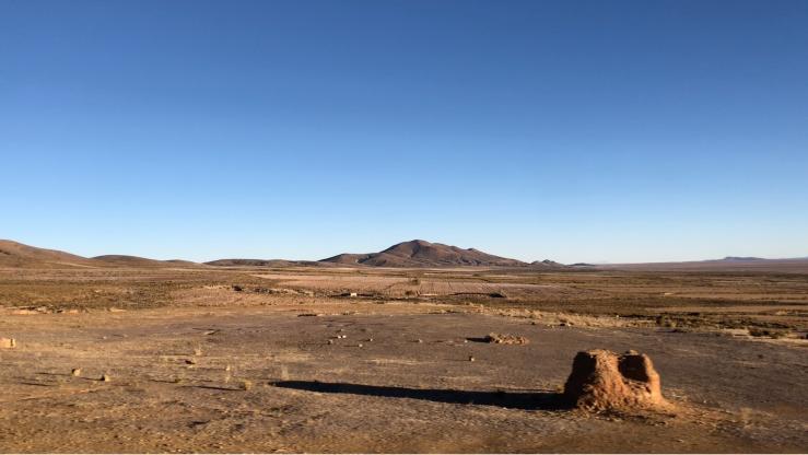 On the road - Uyuni - Potosi - Bolivie