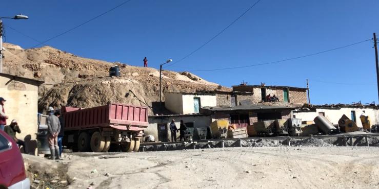 Extérieur de la mine - Potosi - Bolivie