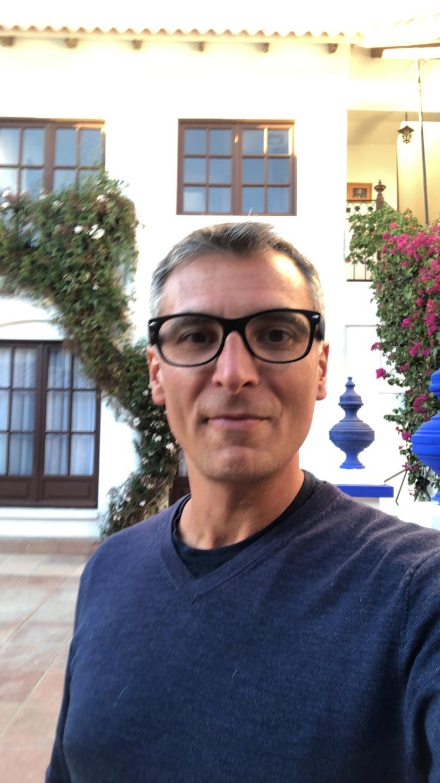 Geoffrey très fier de sa nouvelle coupe de cheveux - Sucre - Bolivie