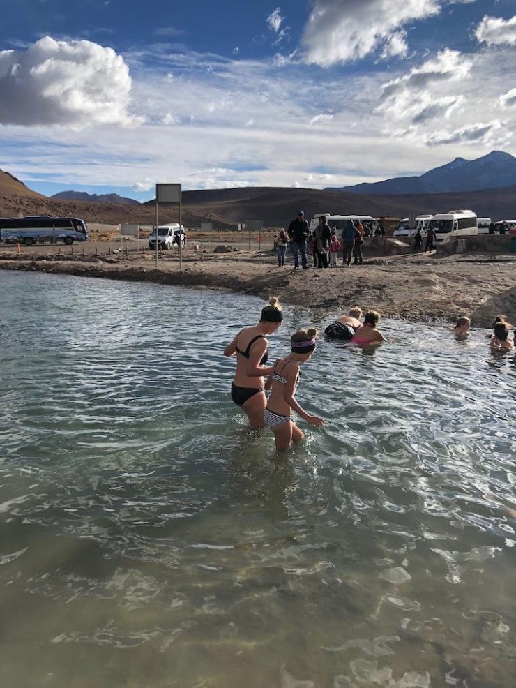 La Piscine - Geysers del Tatio - Désert d'Atacama - Chili
