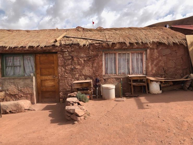 Maisons de Machuca - Désert d'Atacama - Chili