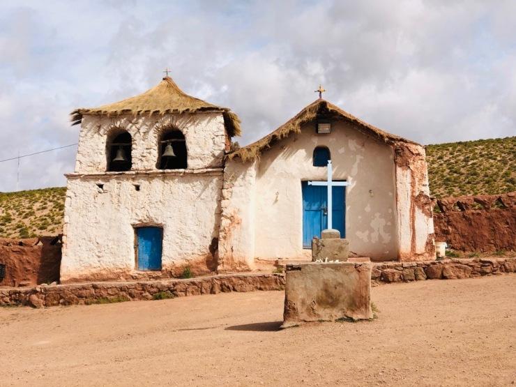 L'église de Machuca - Désert d'Atacama - Chili