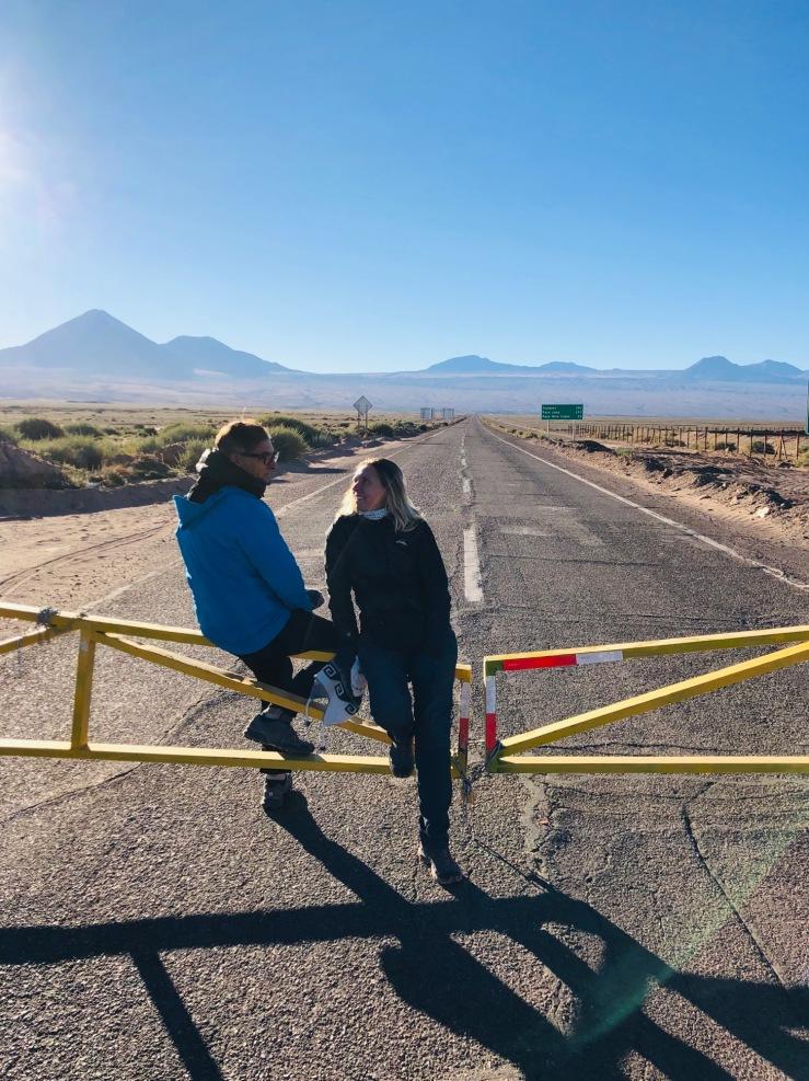 En attendant l'ouverture de la frontière - Chili-Bolivie