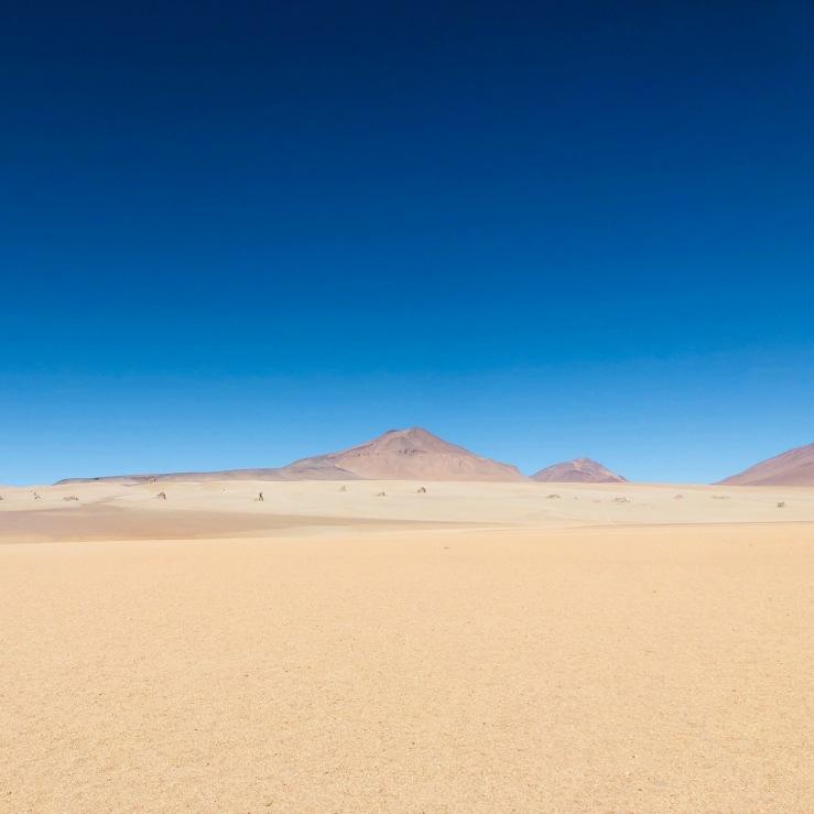 Désert de Dali - Sud Lipez - Bolivie