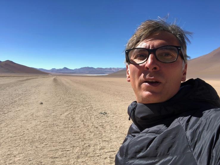 La piste dans le désert - Sud Lipez - Bolivie
