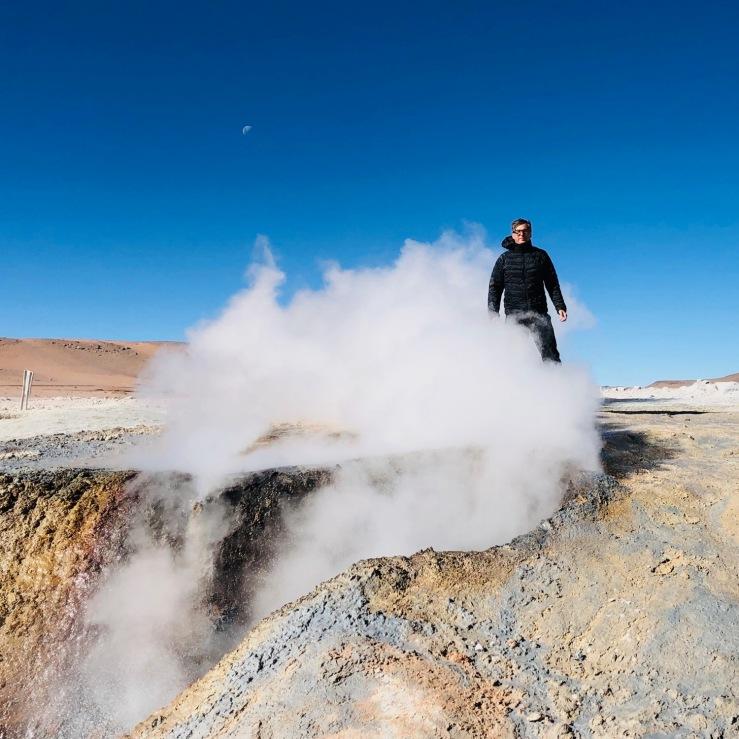 Geysers Sol de Manana - Sud Lipez - Bolivie