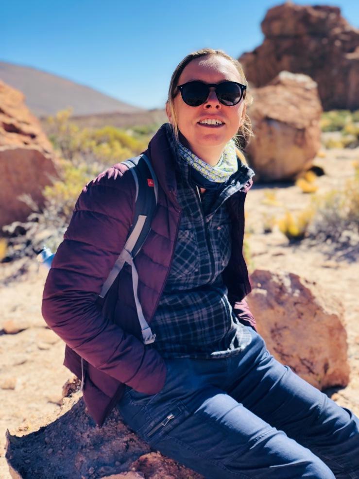 En attendant Geo - Valle de Rocas - Sud Lipez - Bolivie