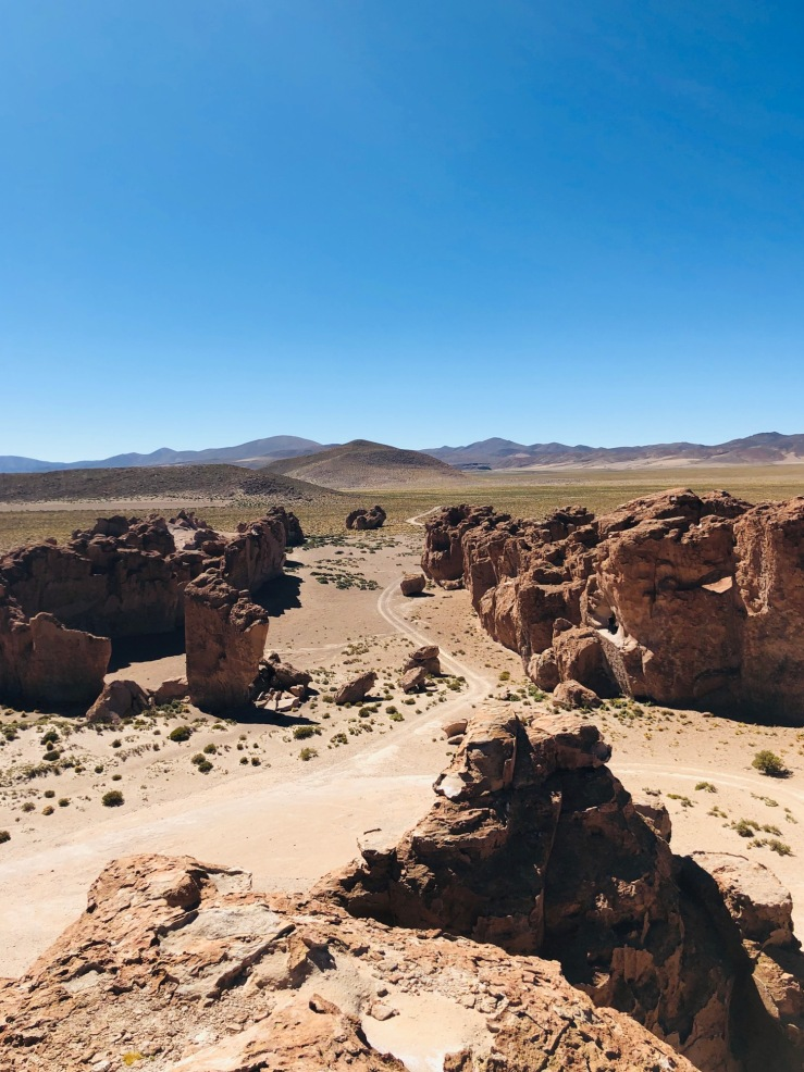 Ciudad Italia Perdida - Valle de Rocas - Sud Lipez - Bolivie