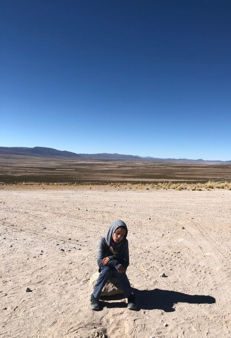 En attendant les grands - Sud Lipez - Bolivie