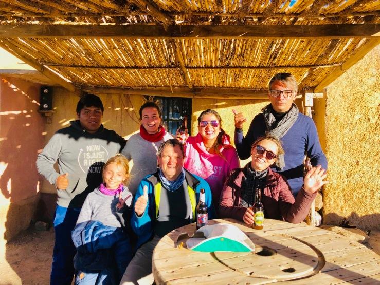 Photo souvenir de la petite troupe ! - Sud Lipez - Bolivie