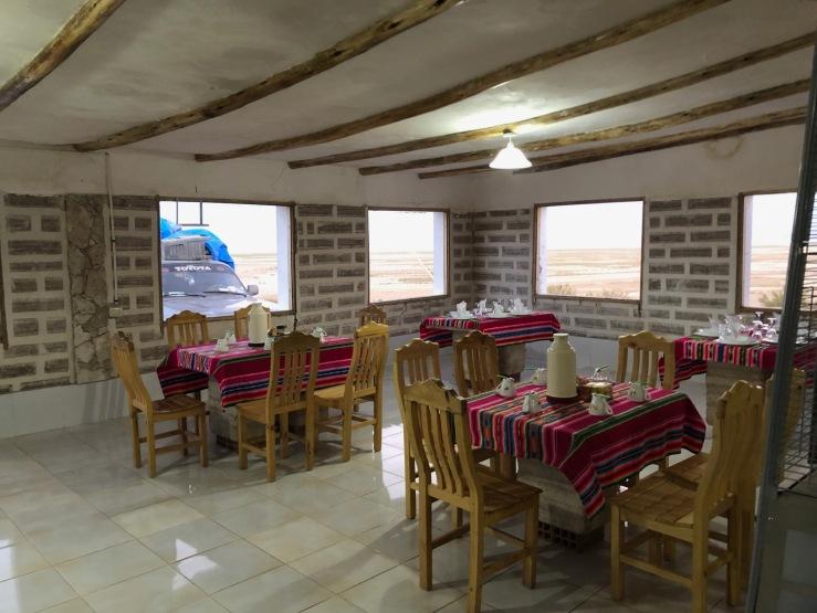 Notre hôtel de Sel aux portes du Salar d'Uyuni - Bolivie