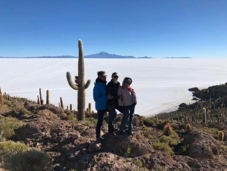 Isla Incahuasi - Salar d'Uyuni - Bolivie