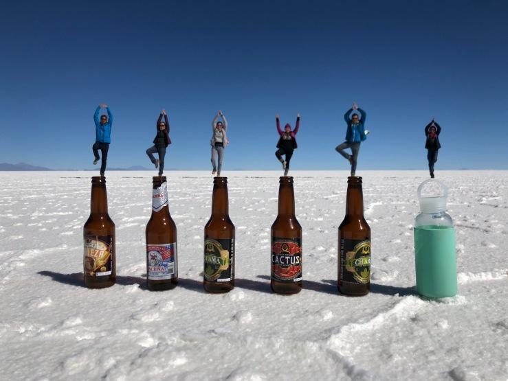 Jeux de perspective - Salar d'Uyuni - Bolivie