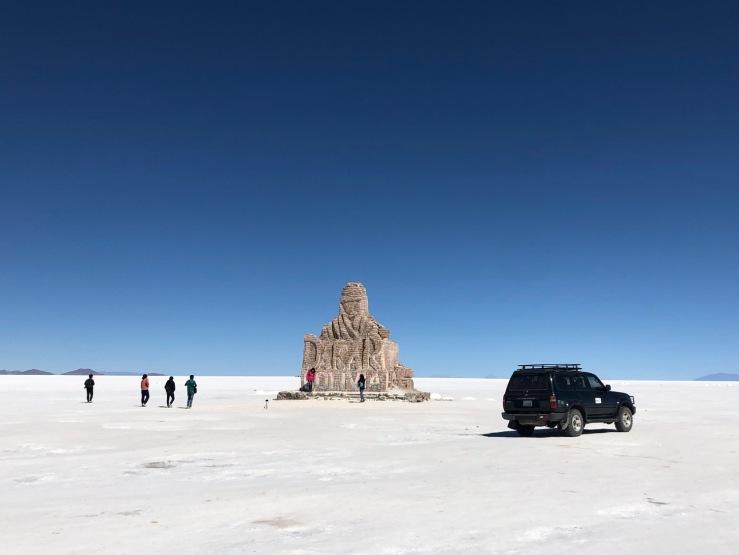 La Sculpture du Paris - Dakar - Salar d'Uyuni - Bolivie