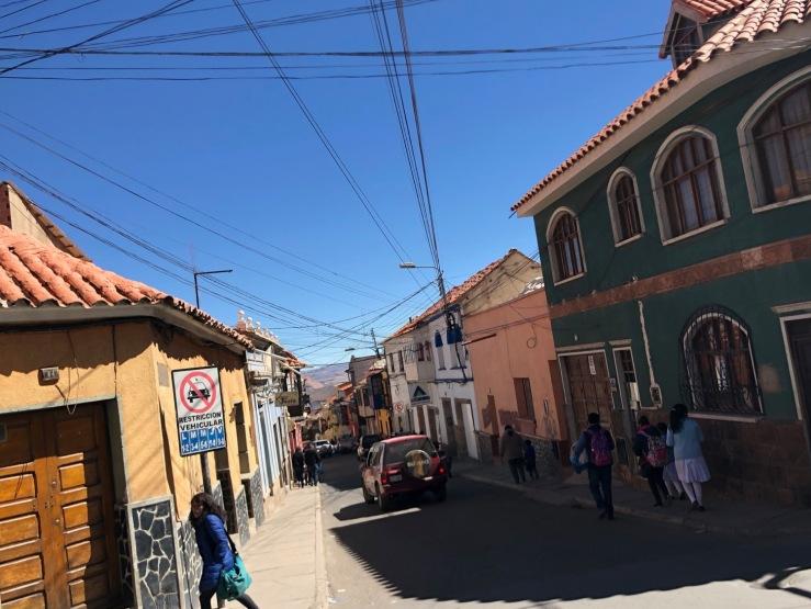 Dans la rue - Potosi - Bolivie