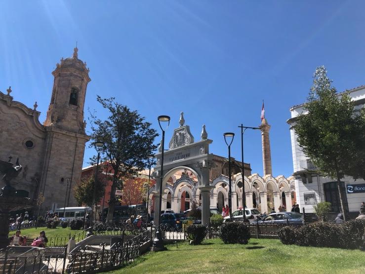 Plaza X de Noviembre - Potosi - Bolivie