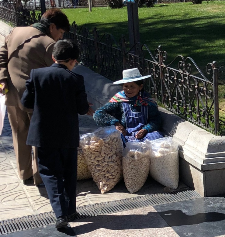 Vendeur de Choclo - Potosi - Bolivie