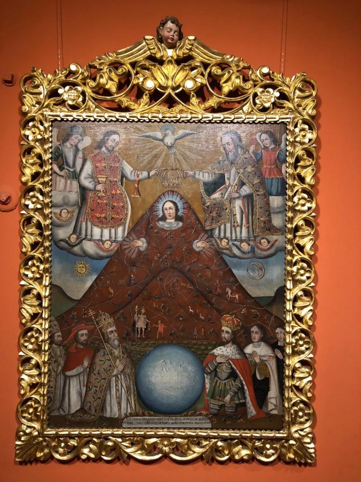 Virgen del Cerro- Casa de la Moneda - Potosi - Bolivie