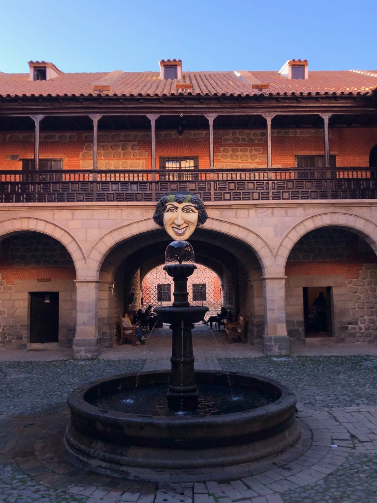 Cour intérieure de la Casa de la Moneda - Potosi - Bolivie